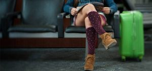 compression socks when flying photo 1 The Benefits of Wearing Compression Socks When You Fly